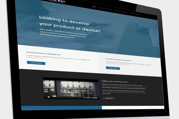 Web design and development for Pebble Bay