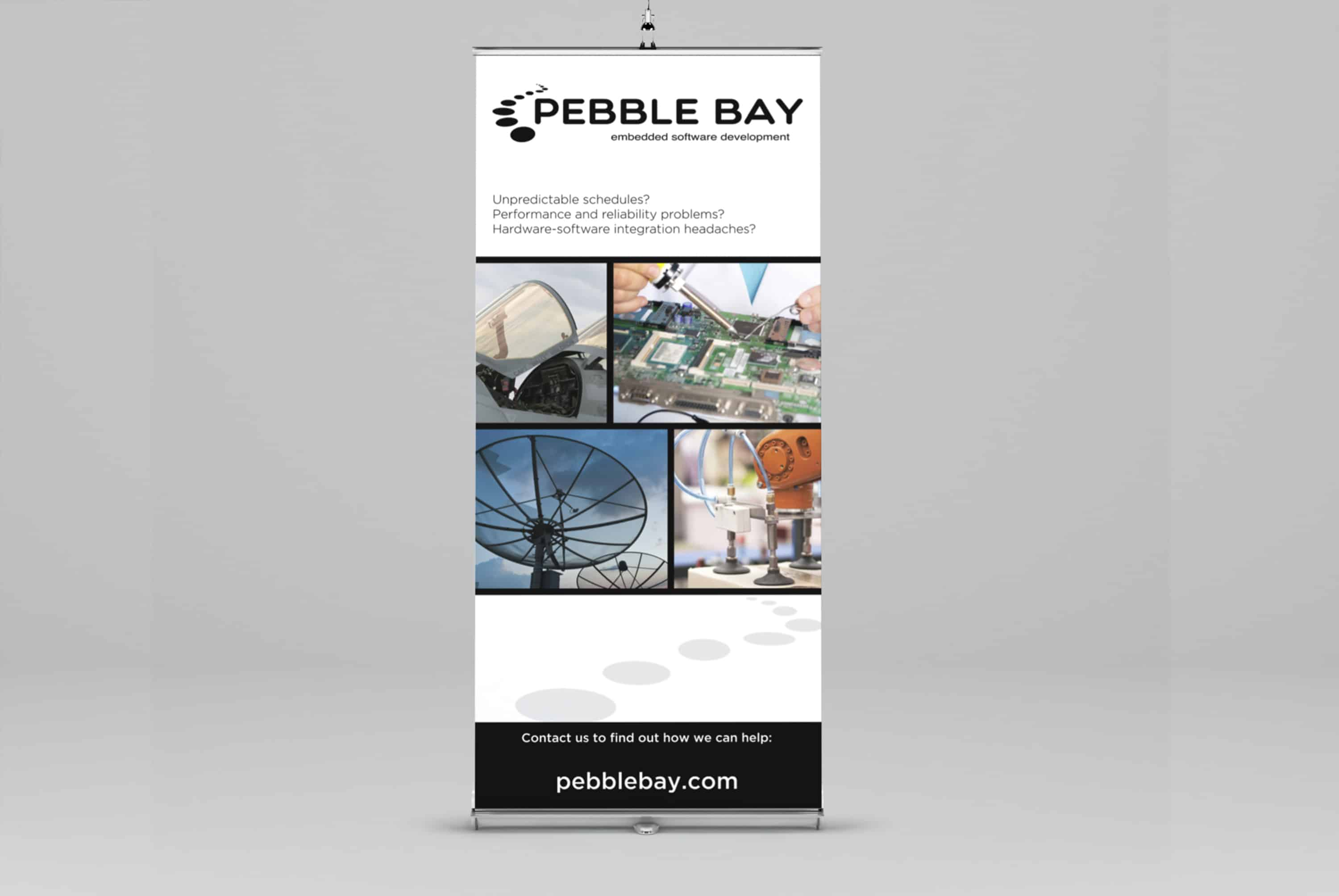 event branding Pebble Bay